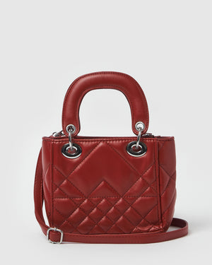 Izoa Mini Candy Tote Bag Red