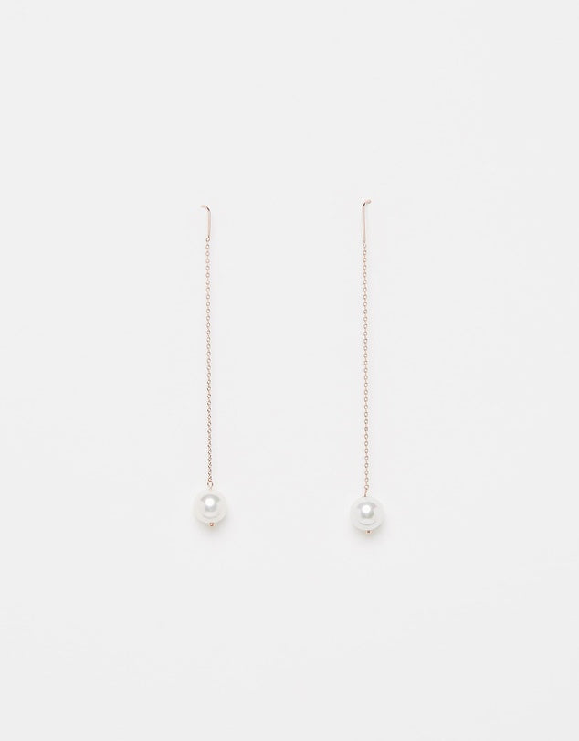 Izoa Dainty Earrings Rose Gold
