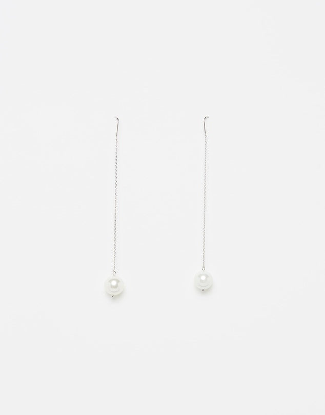 Izoa Dainty Earrings Silver