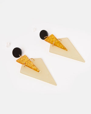 Izoa Deco Earrings Multi Colour