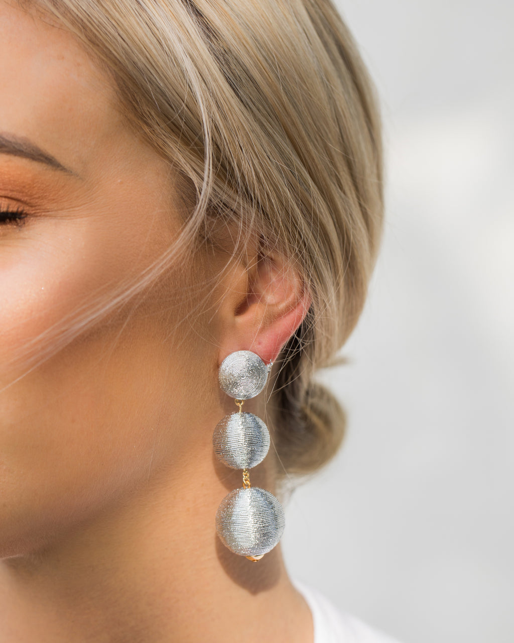 Izoa Del Sol Earrings Silver