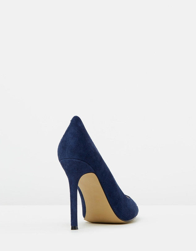 Izoa Dorothy Heels Navy Suede (SIZES 36 & 38 ONLY)