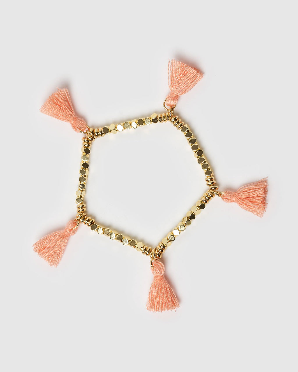 Miz Casa & Co Dreamer Bracelet Gold Peach