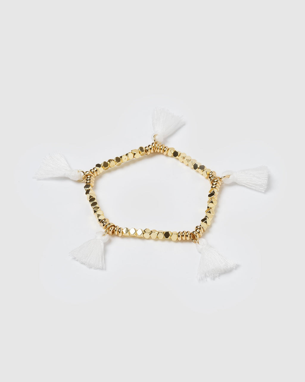 Miz Casa & Co Dreamer Bracelet Gold White