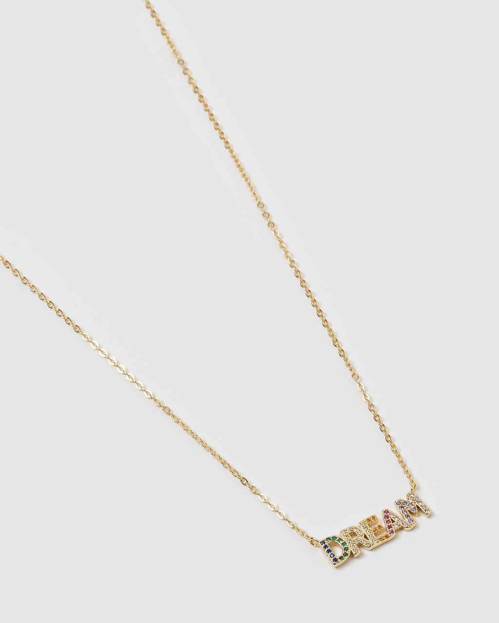 Izoa Dream Necklace Gold Multi