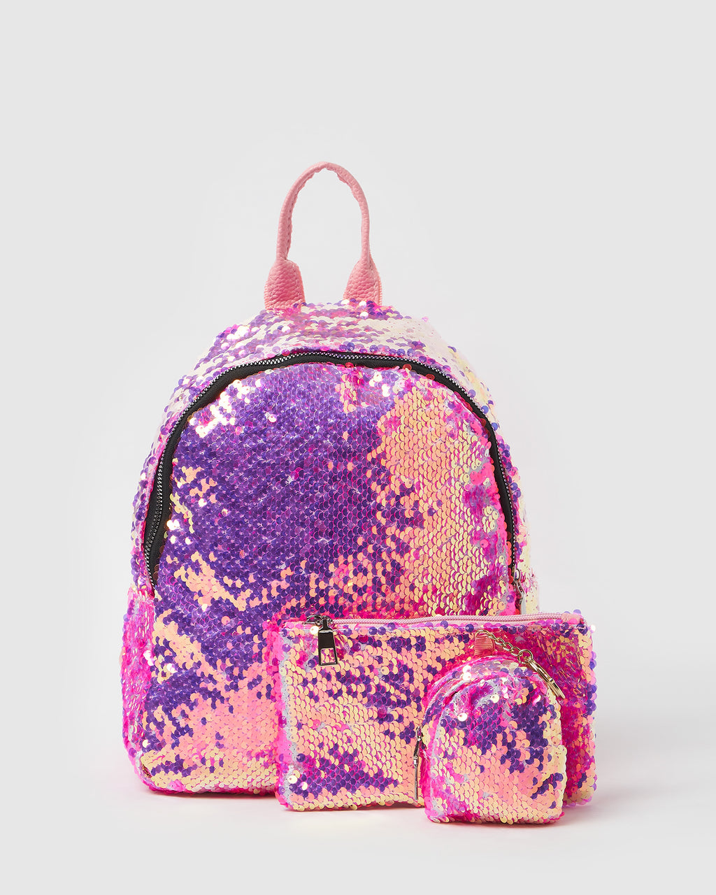 Izoa Kids Disco Backpack Hot Pink