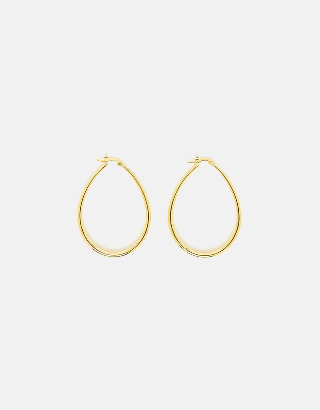 Izoa Eclipse Earrings Gold