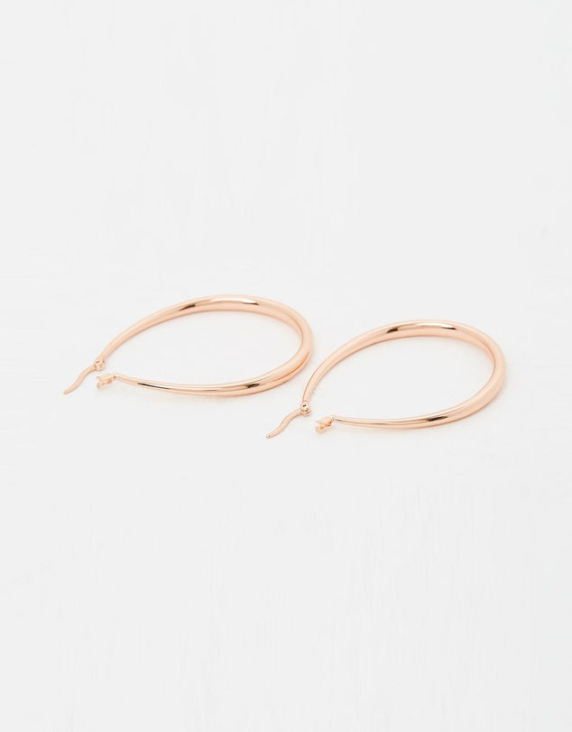 Izoa Eclipse Earrings Rose Gold