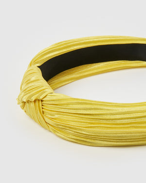 Izoa Ella Headband Yellow