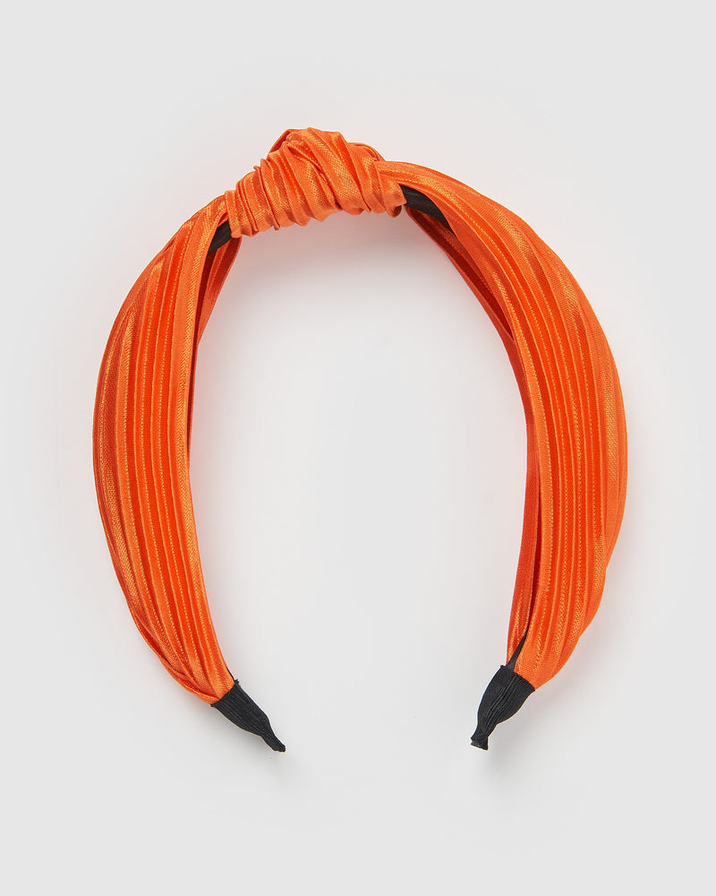 Izoa Ella Headband Orange