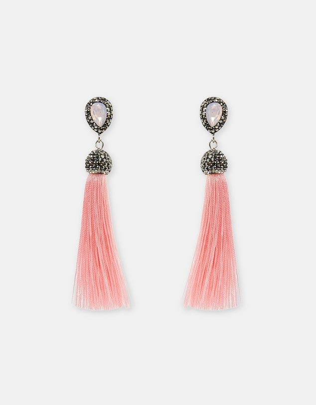 Izoa Enchanted Earrings Pink
