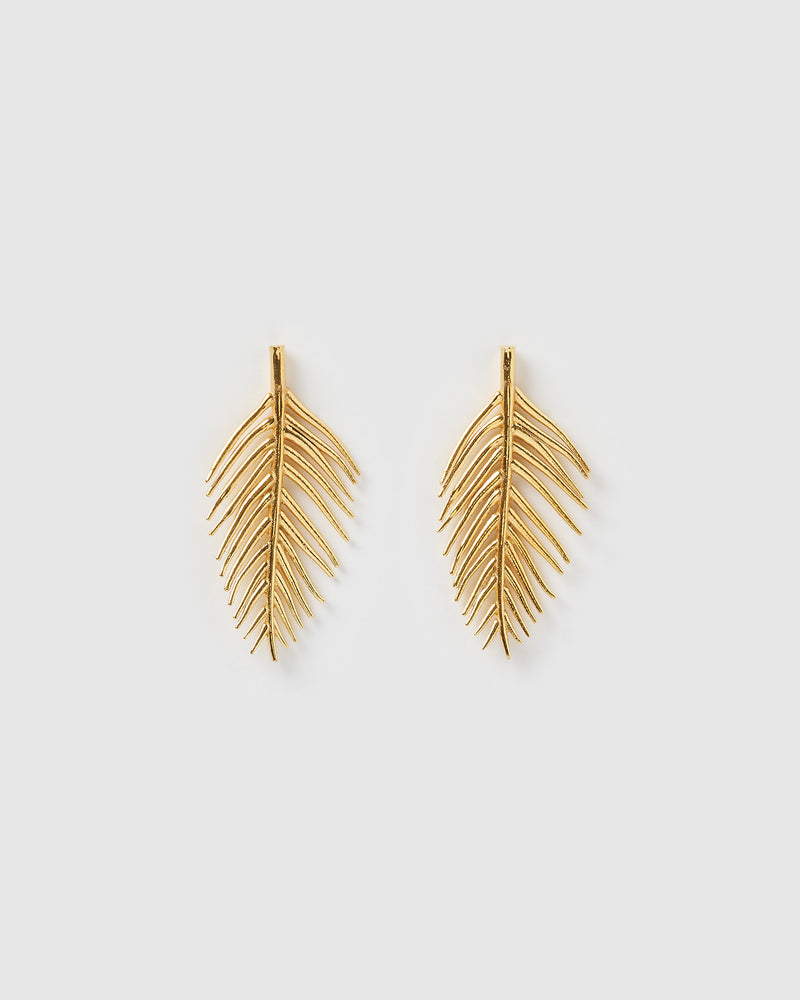 Izoa Ember Earrings Gold