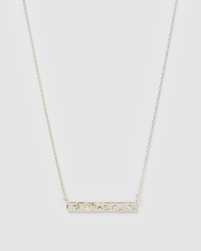 Izoa Emily Necklace Sterling Silver