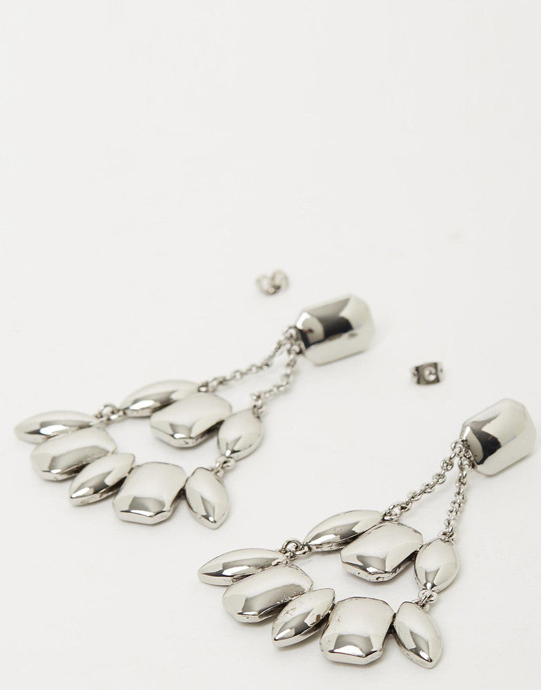 Izoa Fragmental Earrings Silver