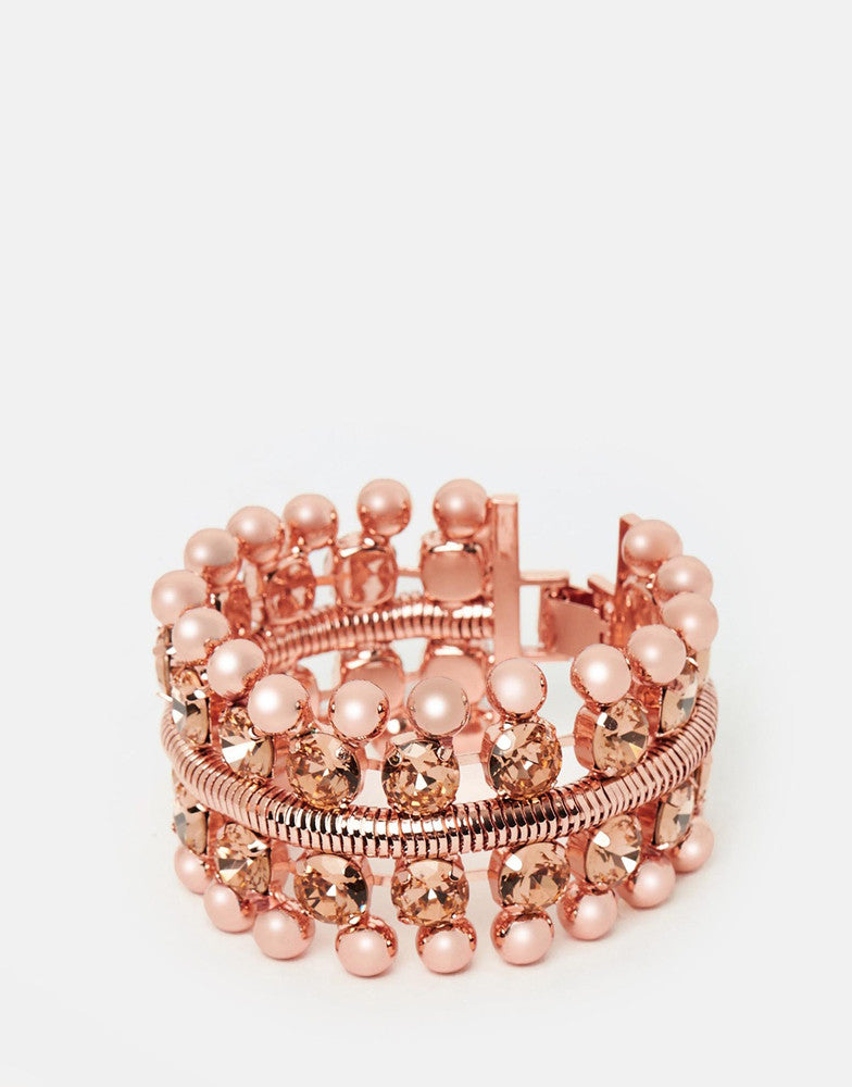 Izoa French Riviera Bracelet Rose Gold