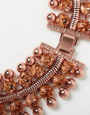 Izoa French Riviera Necklace Rose Gold