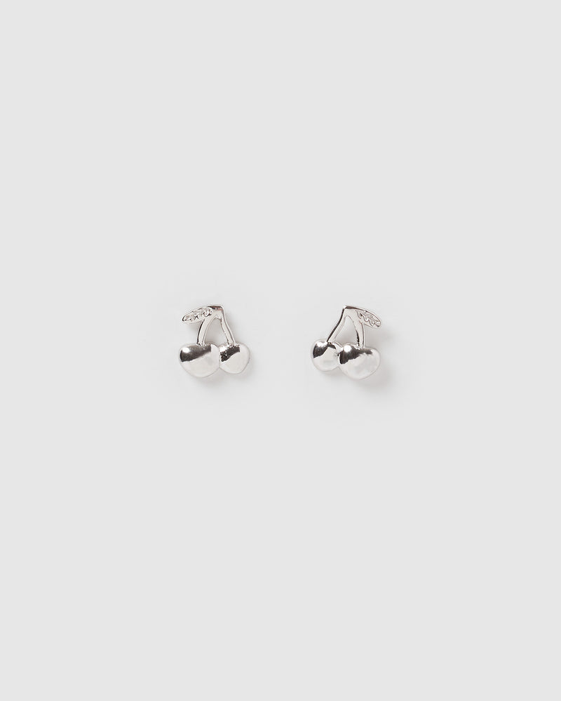 Izoa Kids Fruity Stud Earrings Sterling Silver