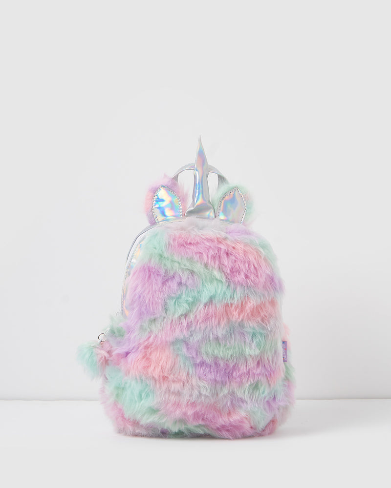 Izoa Kids Furry Friend Backpack Multi
