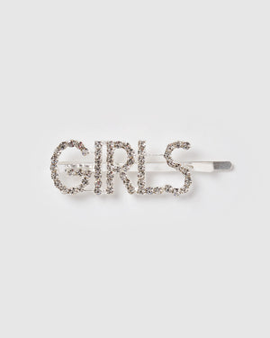 Izoa Girls Hair Pin Silver