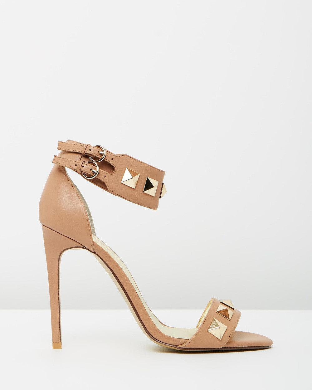 Izoa Greece Heels Taupe (SIZE 40 ONLY)