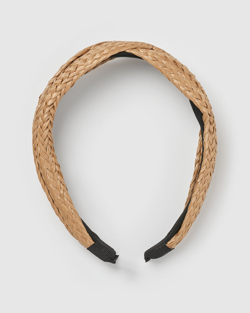 Izoa Golden Headband Natural
