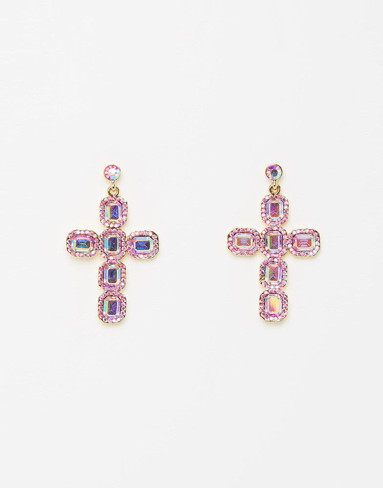 Izoa Heavenly Earrings Pink