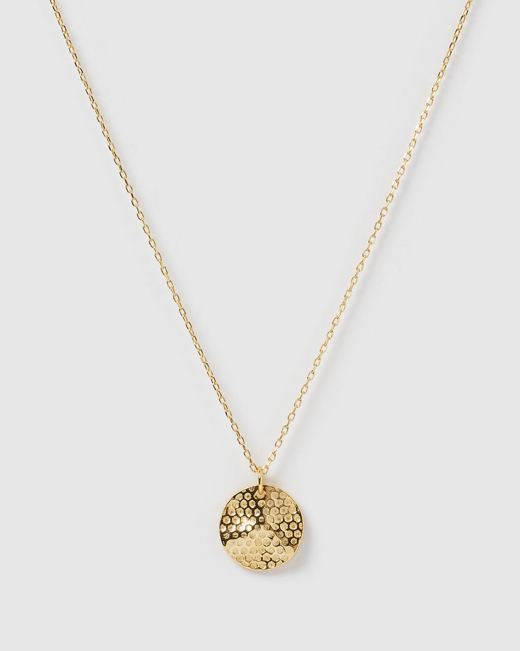 Izoa Honeycomb Necklace Gold