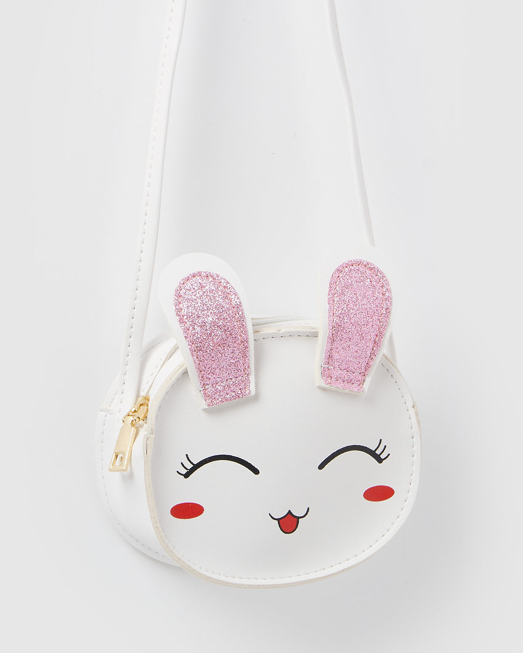 Izoa Kids Honey Bunny Crossbody Bag White