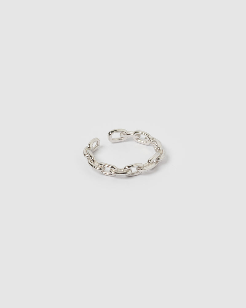 Izoa Chain Ring Silver