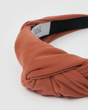 Izoa Isa Headband Burnt Orange