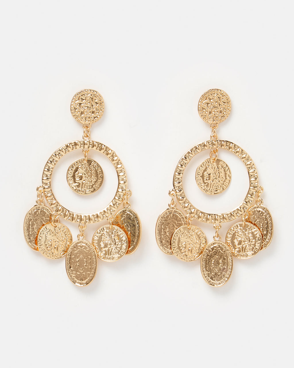 Izoa Trinkets Earrings Gold