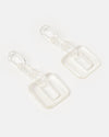 Izoa Imagination Earrings Clear