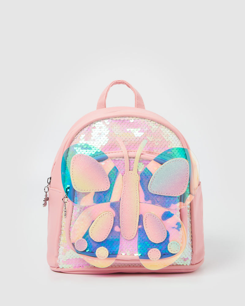 Izoa Kids Cali Butterfly Backpack Pink