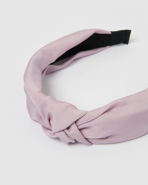 Izoa Dakota Headband Lilac
