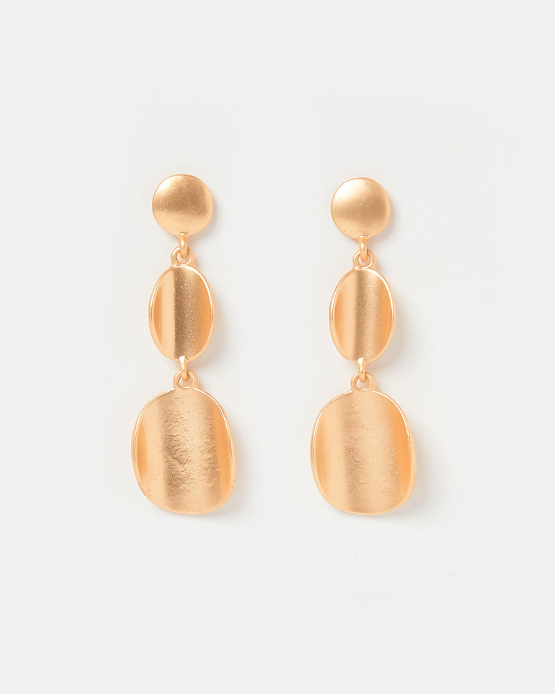 Izoa Dinero Earrings Gold