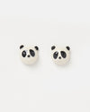 Izoa Panda Stud Earrings