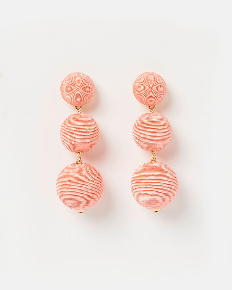 Izoa Del Sol Earrings Pink