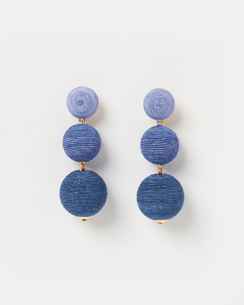 Izoa Del Sol Earrings Blue