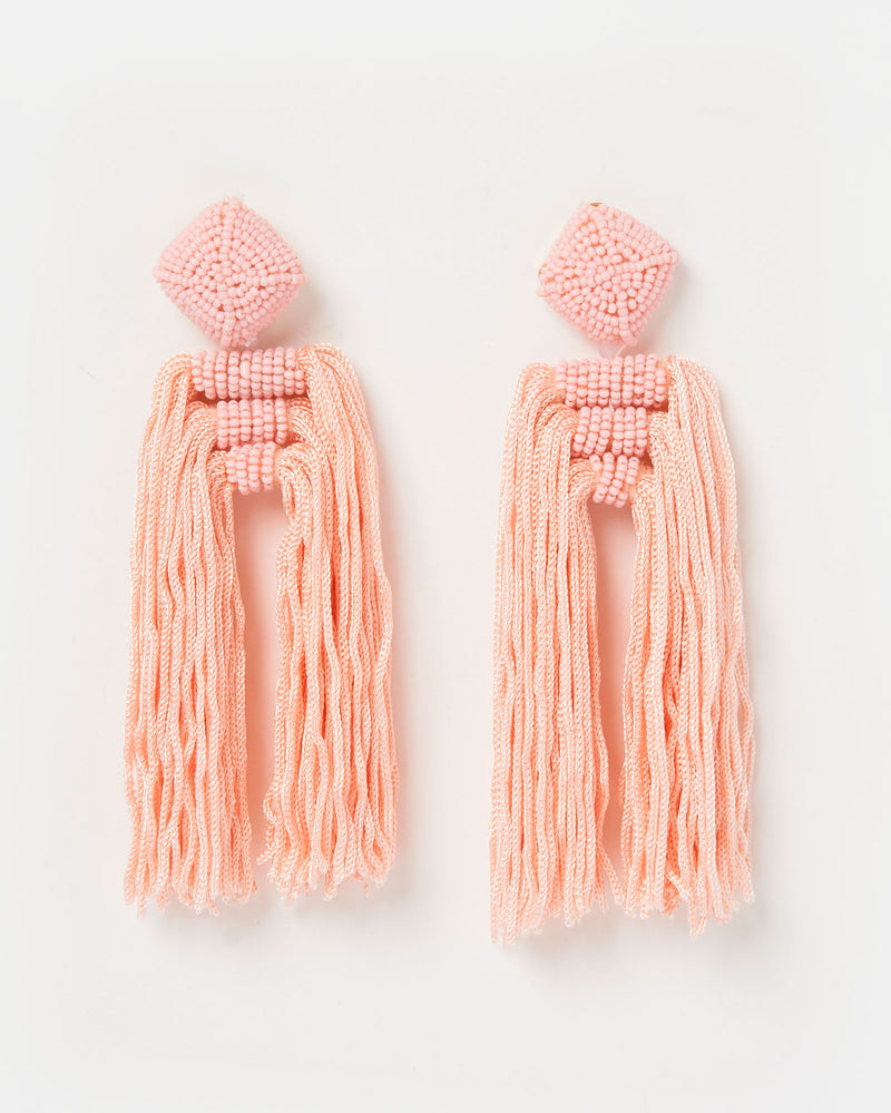 Izoa Poeta Earrings Pink