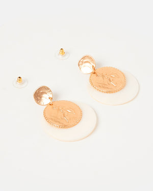 Izoa Tesoro Earrings Gold