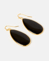 Miz Casa & Co Sea Petal Earrings Lapis Gold