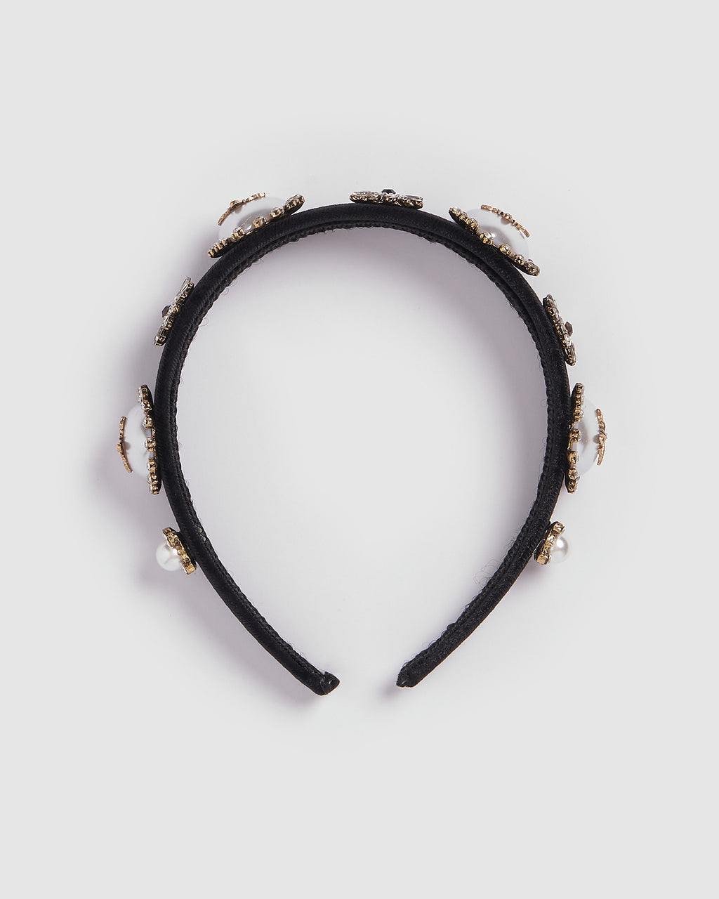 Izoa Beckham Headband Black