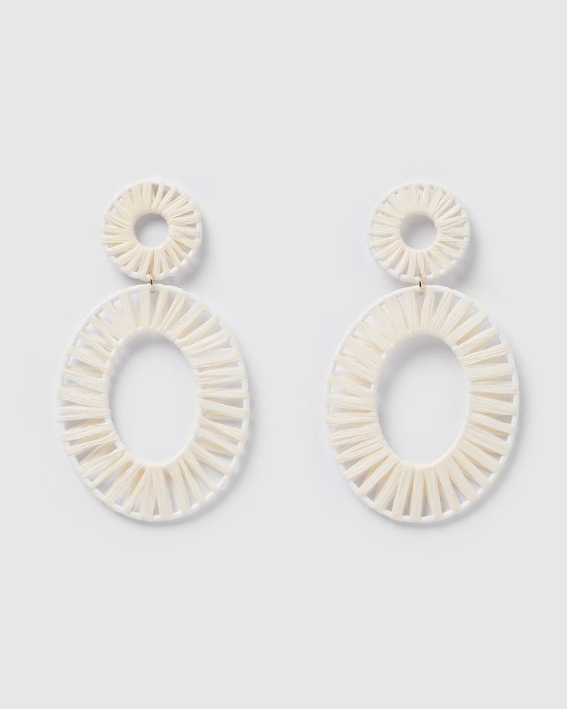 Izoa True Spirit Earrings Cream