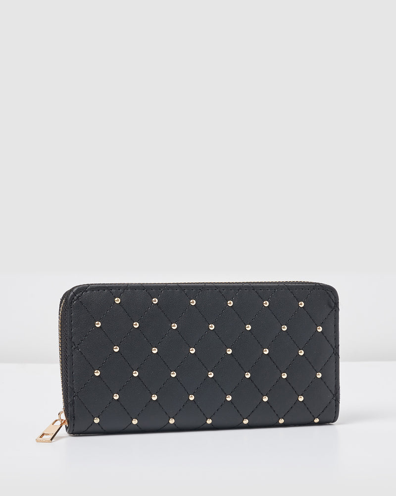 Izoa Carla Wallet Black