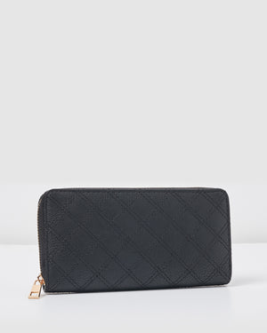 Izoa Andi Wallet Black