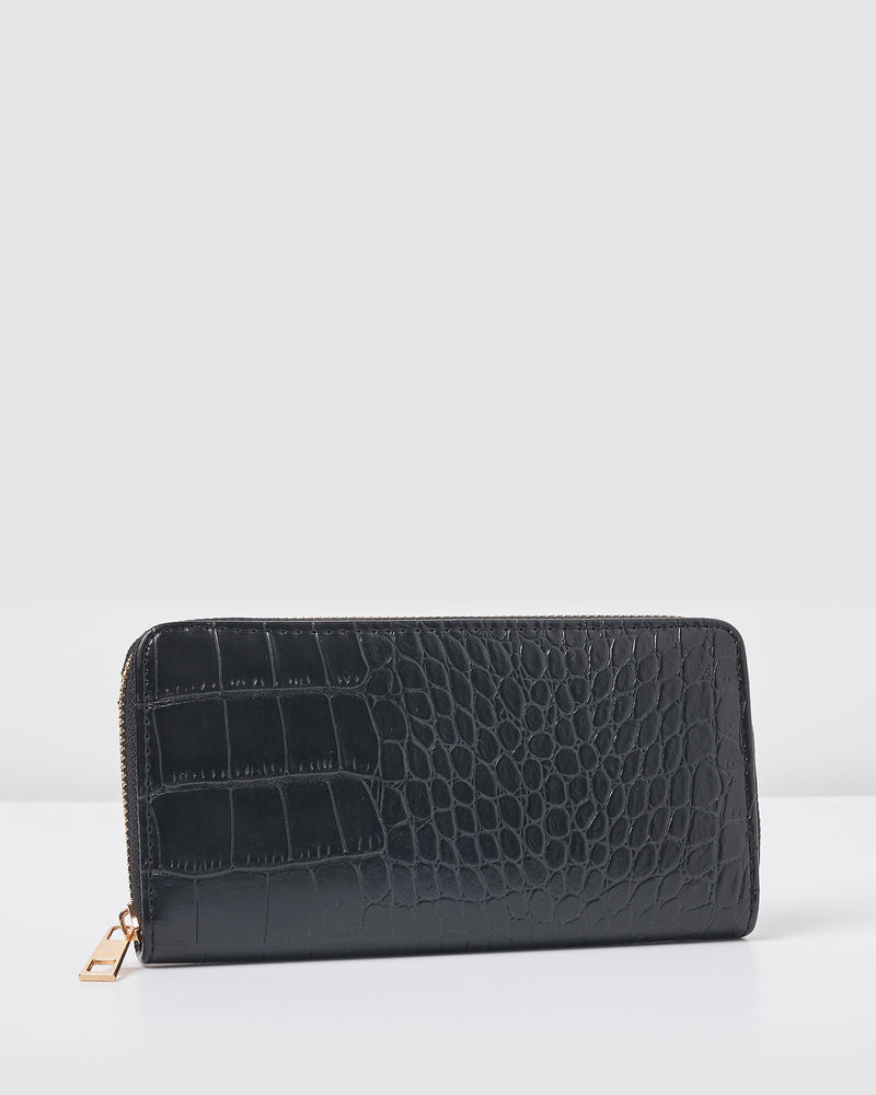 Izoa Kyra Wallet Black