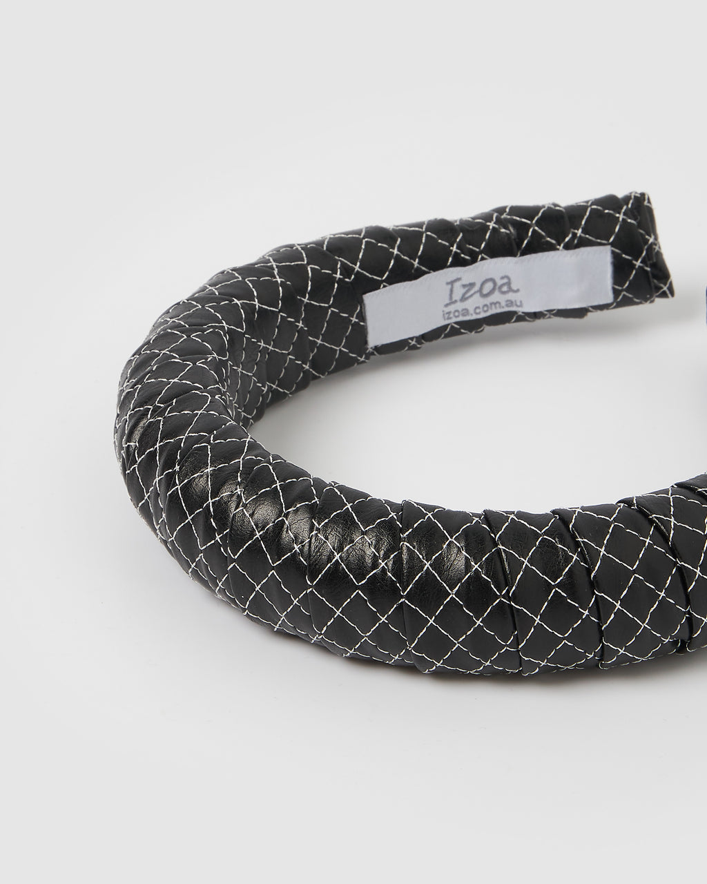Izoa Brandy Headband Black