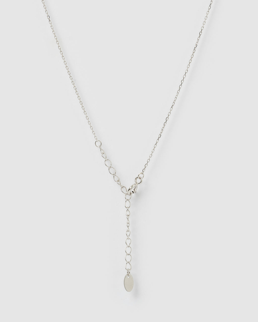 Izoa Delicate Freshwater Pearl Necklace Sterling Silver