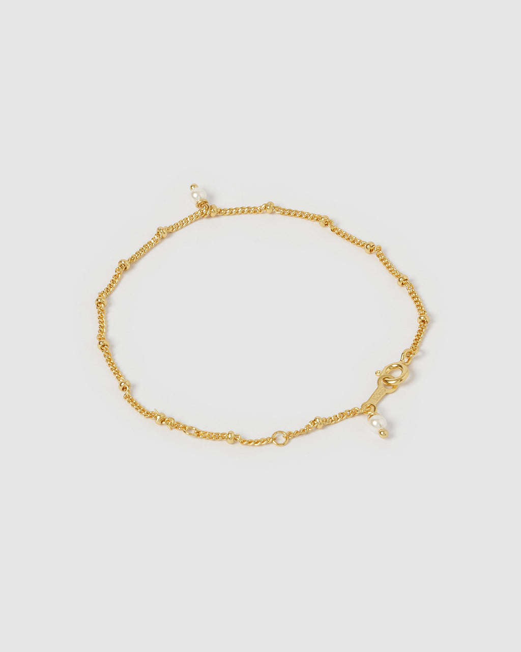 Izoa Eternal Bracelet Gold Pearl