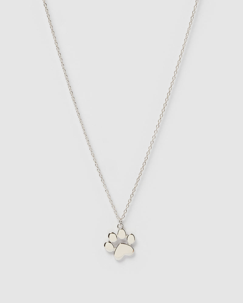 Izoa Kids Pup Necklace Sterling Silver